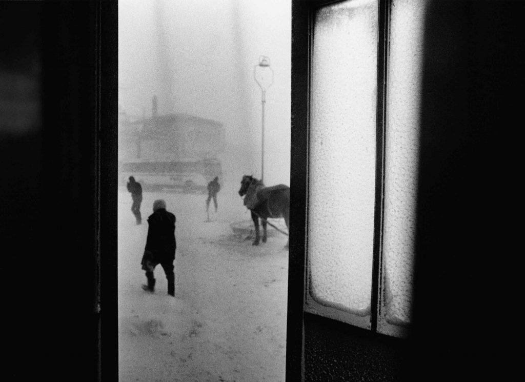 Snowstorm I, 150 cm x 200 cm, Unikat, 1975/2019